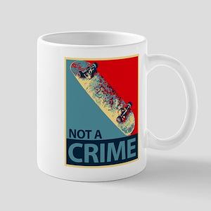 not a crime Mugs