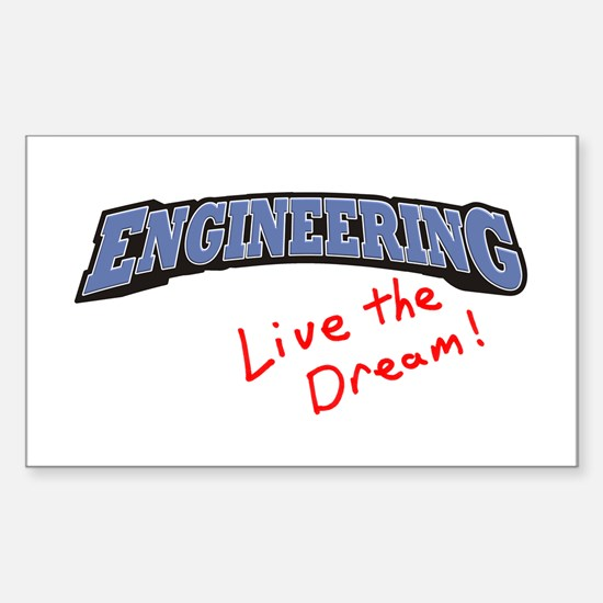 Engineering - LTD Rectangle Decal