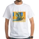 Cyprus, Green Zone White T-Shirt