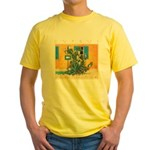 Cyprus, Green Zone Yellow T-Shirt