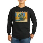 Cyprus, Green Zone Long Sleeve Dark T-Shirt