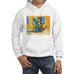 Cyprus, Green Zone Hooded Sweatshirt