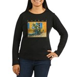 Cyprus, Green Zone Women's Long Sleeve Dark T-Shir