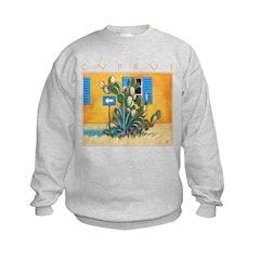 Cyprus, Green Zone Kids Sweatshirt