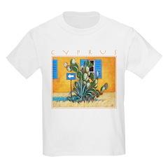 Cyprus, Green Zone Kids Light T-Shirt