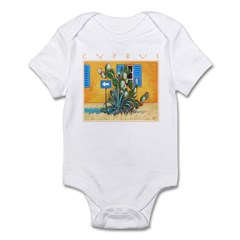 Cyprus, Green Zone Infant Bodysuit