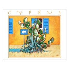 Cyprus, Green Zone Poster Design