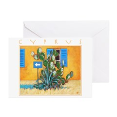 Cyprus, Green Zone Greeting Cards (Pk of 20)