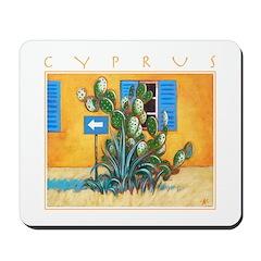 Cyprus, Green Zone Mousepad