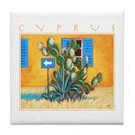 Cyprus, Green Zone Tile Coaster