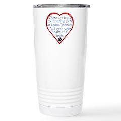 Open Your Heart Stainless Steel Travel Mug