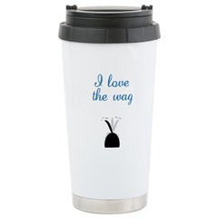 Love the Wag Stainless Steel Travel Mug
