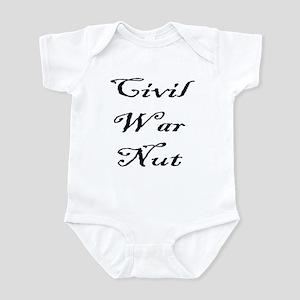 Civil War Nut Infant Bodysuit