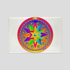 Healing Mandala Rectangle Magnet