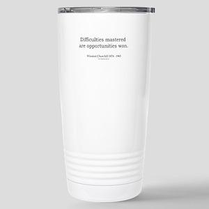 Winston Churchill 5 Stainless Steel Travel Mug