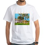 Cyprus, The Shakespeare White T-Shirt