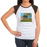 Cyprus, The Shakespeare Women's Cap Sleeve T-Shirt