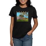 Cyprus, The Shakespeare Women's Dark T-Shirt