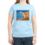 Cyprus, Aphrodite's Rocks Women's Light T-Shirt