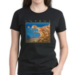 Cyprus, Aphrodite's Rocks Women's Dark T-Shirt