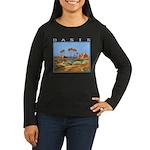 oasis Women's Long Sleeve Dark T-Shirt