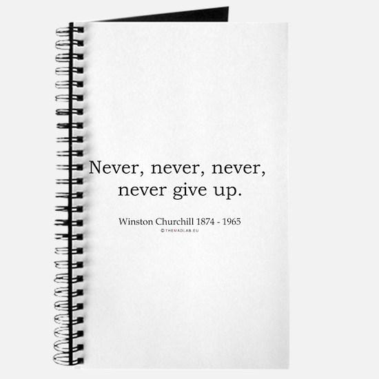 Winston Churchill 7 Journal