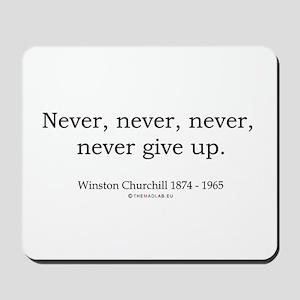 Winston Churchill 7 Mousepad