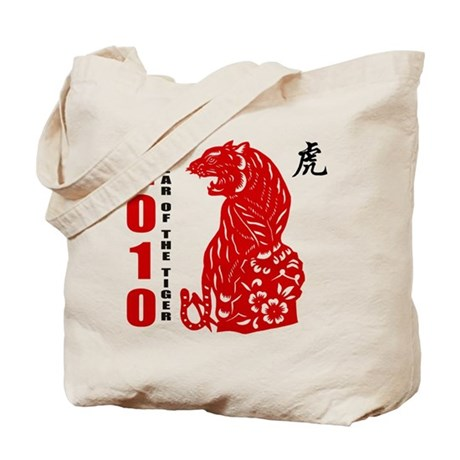 Year of The Tiger 2010 Tote Bag