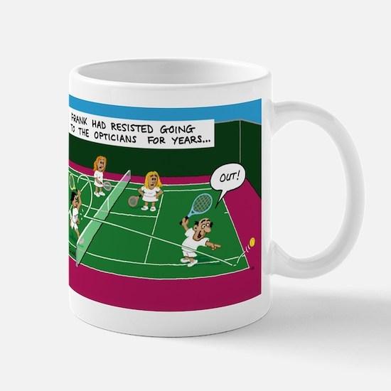 Frank had resisted going to t Mug