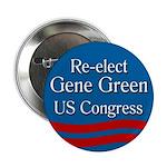 Re-elect Gene Green to Congress button