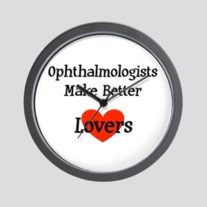 Ophthalmologist Gift Wall Clock