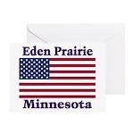 Eden Prairie Flag Greeting Card