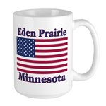 Eden Prairie Flag Large Mug