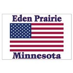 Eden Prairie Flag Large Poster