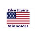 Eden Prairie Flag Mini Poster Print