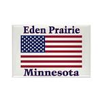 Eden Prairie Flag Rectangle Magnet (100 pack)
