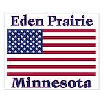 Eden Prairie Flag Small Poster