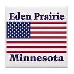 Eden Prairie Flag Tile Coaster