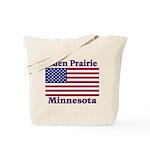 Eden Prairie Flag Tote Bag