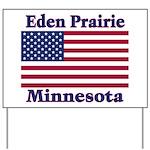 Eden Prairie Flag Yard Sign