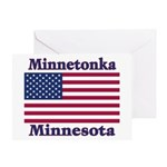 Minnetonka Flag Greeting Card