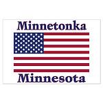 Minnetonka Flag Large Poster