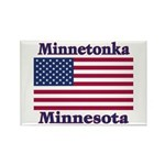Minnetonka Flag Rectangle Magnet