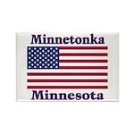 Minnetonka Flag Rectangle Magnet (100 pack)
