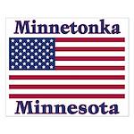 Minnetonka Flag Small Poster