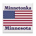 Minnetonka Flag Tile Coaster