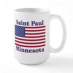 Saint Paul Flag Large Mug