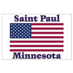 Saint Paul Flag Large Poster