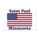 Saint Paul Flag Mini Poster Print