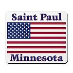 Saint Paul Flag Mousepad